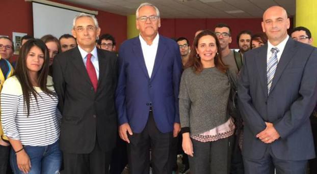 Representantes de las instituciones de la provincia de Las Palmas